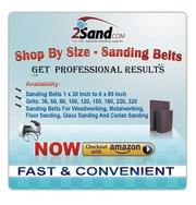 Sanding Belts for Wood,  Metal,  Floor,  Glass and Corian Sanding